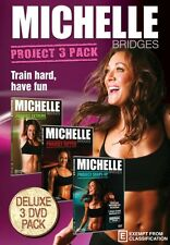 Michelle Bridges: Project 3 Pack ( Michelle Bridges Pr . - DVD - NEW Region Free