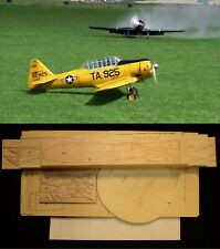 "101"" wingspan AT-6 TEXAN R/c Plane short kit/semi kit and plans"