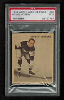 PSA 5 HOWIE MORENZ 1933 V357 Ice Kings Hockey Card #36 (French & English) NICE
