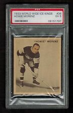 PSA 5 HOWIE MORENZ 1933 V357 Ice Kings Hockey Card #36 (French & English) NICE