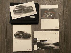 AUDI A6 & S6 SALOON & AVANT OWNERS USER MANUAL HANDBOOK & WALLET 2015-2018 C7 4G