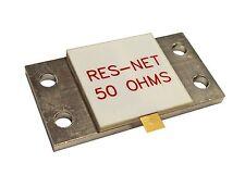 800 Watt Hybrid 50 ohm Termination Resistor good to 500 Mhz