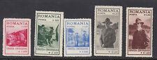 ROMANIA : 1931 Boy Scouts Exhibition Fund set SG 1121-5   mint