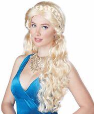 Deluxe Blonde Medieval Costume Wig Adult Daenerys Targaryen Game of Thrones