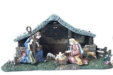 Star of Hope Creche Kinkade's Nativity Collection Hawthorne Village 2001