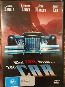 THE CAR RARE DVD HORROR CULT FILM JAMES BROLIN, RONNY COX & KATHLEEN LLOYD MOVIE