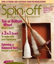 Spin-off magazine spring 2009: clun forest set, slotted scarf, sock yarn