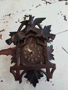 Vintage German Cuckoo Clock Parts Or Repair Made in  Germany