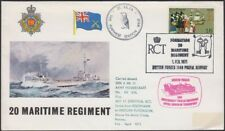 Great Britain, 1971. Flight Cover Hovercraft, Arctic Circle, Norway