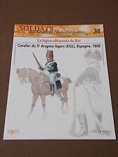 Fascicule N°38 Del Prado Soldat Guerre Napoléon Cavalier 3e Dragons Légers 1808
