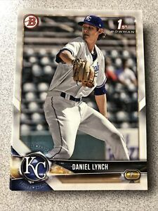 Daniel Lynch 20 card rookie lot 2018 Bowman Draft Kansas City Royals