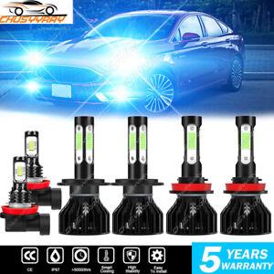For Suzuki Grand Vitara 2006-2010 2011 2012 2013 LED Headlight Hi/Low+Fog Light