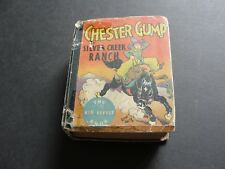 CHESTER GUMP AT SILVER CREEK RANCH by Sidney Smith-No.734-1933 BIG LITTLE BOOK.