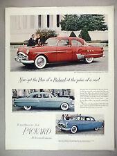 Packard Car PRINT AD - 1951 ~~ three models shown