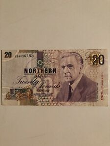 Northern Ireland 1997 20 Pounds banknote