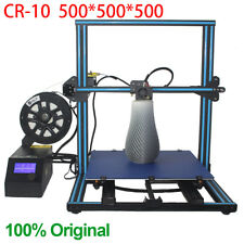 CCTREE Hot Sale Creality CR-10 DIY 3D Printer Kit large Print Size 500x500x500mm