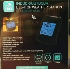 Weather station for indoor and Outdoor Temperature with Built-In Alarm wireless