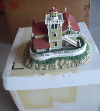 Danbury Mint East Brother Light Station Lighthouse Nib
