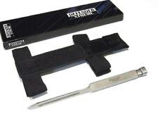 """7"""" Tri-Blade Throwing Spike Knife w/ Wrist Sheath - Fast Shipping!"""