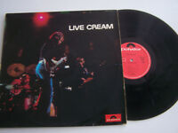 LP 33 TOURS , CREAM , LIVE , ORIGINAL 1970 . VG - / EX . PRIVILEGE 2383016 .
