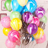 "10pcs Marble Agate Latex Balloons 10"" Balloons Wedding Party Birthday Decro"