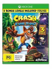 Crash Bandicoot N Sane Insane Trilogy XBOX One Microsoft XB1 3 Adventure Games