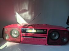 1989 TOTL Panasonic RX-DT9 Boombox in Custom Pink with Upgraded Tweeters!