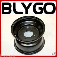 "Black 19X7.00 - 8"" Inch Small 4 Stud Front Wheel Rim Quad Dirt Bike ATV Buggy"