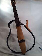 Yamaha SL G 100N Silent Guitar Gig Bag, head phones,Nylon String, Natural rare