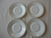 Vintage Corelle Indian Summer Saucers Corning Replacements Set of 4 Never Used