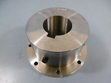"1 Used Unknown 5-873-5 Flanged Coupling Shaft 2 7/16"" Inch Bore"