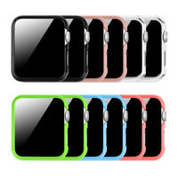 3 Color Apple Watch Case Protective Bumper Cover For Apple Watch Series 3 2 1