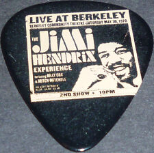 "*<* SALE! FANTASTIC JIMI HENDRIX ""LIVE AT BERKELEY"" POSTER ART NEW GUITAR PICK!"