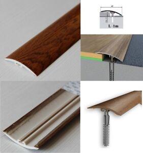 Dural Multifloor Door Bar Threshold  Strip Cover Laminate Floor1m Walnut 9E 42mm