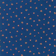 MoMo Lucky Day Ladybugs Dark Blue Dusk 33294 17 Moda Quilting Cotton Fabric