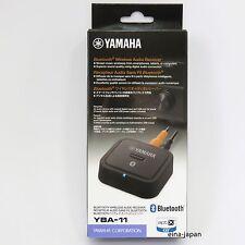 Yamaha YBA-11 Bluetooth Wireless Audio Receiver Black with tracking