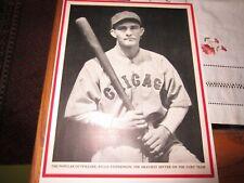 Riggs Stephenson 8x10 photo from Baseball Magazine