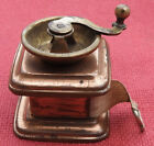 ANTIQUE+VICTORIAN+BRASS+%26+COPPER+COFFEE+GRINDER+SHAPED+DRESSMAKERS+TAPE+MEASURE