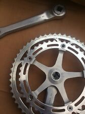 Chainset – Lovely Vintage Campagnolo Super / Nuovo Record,