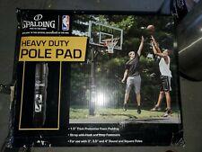 "Spalding Basketball Pole Pads For 3-4"" Round & Square Poles 8040 Black Nib"