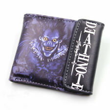 Anime Death Note Ryuuku Leather Wallet Cosplay Ryuuku Purse Two-Fold Purse WVC