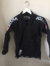 Atama Jr Youth Kimono Go Brazilian Jujitsu MMA Black Red Size Small