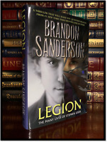 Legion Lives Stephen Leeds ✎SIGNED✎ by BRANDON SANDERSON New Hardback 1st/1st