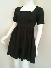 Ladies beautiful black festival boho dress Indiana by Freda designer size 6