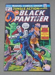 Jungle Action #9 (Black Panther) Marvel 1972 series; Panthers Rage; FN