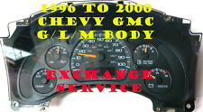 2002 TO 2007 CHEVY EXPRESS VAN INSTRUMENT PANEL CLUSTER REPAIR SERVICE