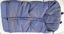 Maclaren Fußsack Universal Expandable Blau Winterfußsack für Buggies NEU