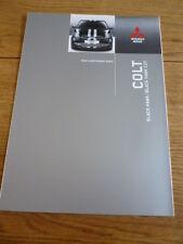 Mitsubishi Colt Black Hawk & Black Hawk Czt folleto de ventas 2008 mi Jm