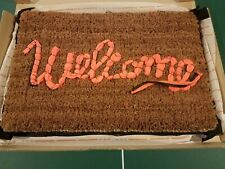 Banksy Welcome Mat Gross Domestic Product Love Welcomes Refuge In Hand