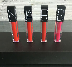 NARS velvet lip glide new in box full size 0.2oz select yours